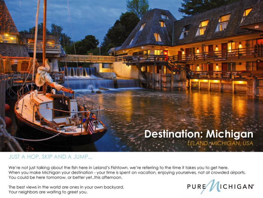 Pure Michigan 'Create Your Own Ad' Campaign Submission