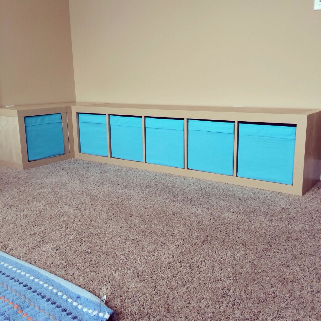 Diy Playroom Project Storage Bench The Happy Ness Plan