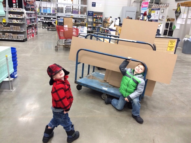at Lowes